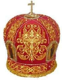 Embroidered Mitre 02