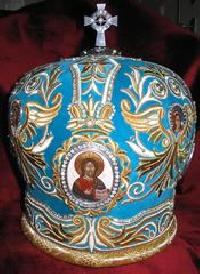 Embroidered Mitre 04