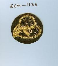 Embroidered Motif (ECM-1136)