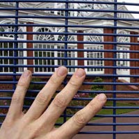 Weld Mesh Fencing System 01