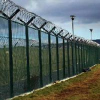 Weld Mesh Fencing System 02