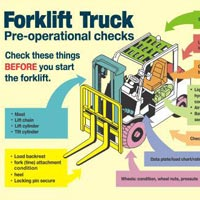 Forklift Safety Sign (FL02)