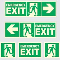 Glow In Dark Safety Sign 02