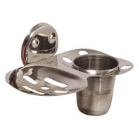 Tumbler Holder + Soap Dish
