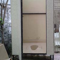 Economical FRP Single Seater Toilet Block