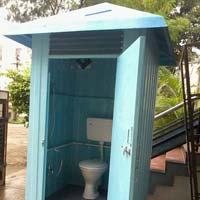 European Commode FRP Single Seater Toilet Block