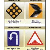 Solar Powered Road Signage
