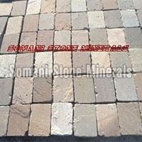 Multi Color Sandstone Cobbles 01