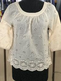 1071 Ladies Woven Top