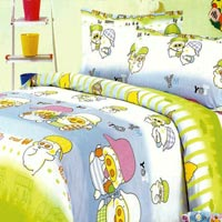 Kiddo Bubbles Bed Sheet Set