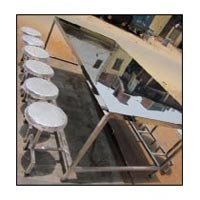 Item Code : AKCT-02 (Canteen table with folding stools)