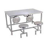 Item Code : AKCT-05 (Canteen table with folding stools)