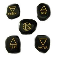 5 Elements ENgraved Stone