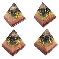 Reiki Engraved Pyramid