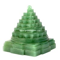 Shree Yantra Green Aventurine