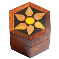 Wooden Jewellery Box 05
