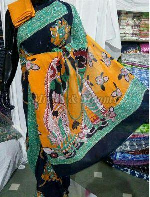 Ladies Cotton Saree 01