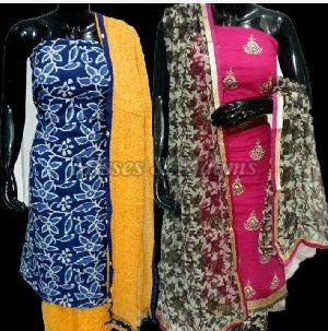 Ladies Cotton Suit Material