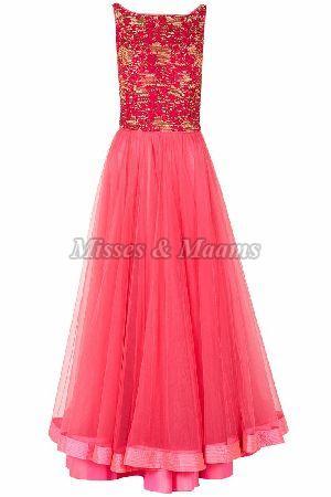Ladies Designer Gown 01