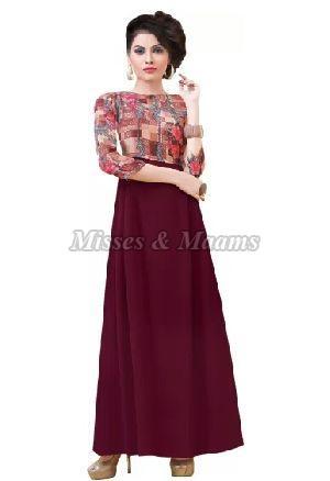 Ladies Designer Gown 05