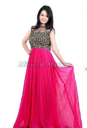 Ladies Designer Gown 11