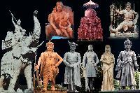 Metal Statues 05