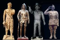 Metal Statues 06