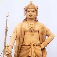 Raja Bhoj Statue