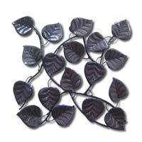 Iron Leaves Wall Hanging