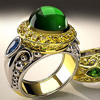 CAD/CAM Jewelry Designing