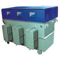 Three Phase Servo Voltage Stabilizer 03