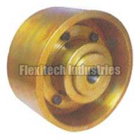 Brake Drum with Flexible Geared Couplings