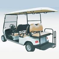 6 Seater Electric Utility Car