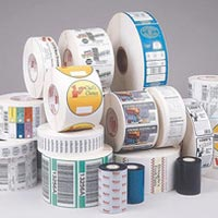 Multi Colour Self Adhesive Labels