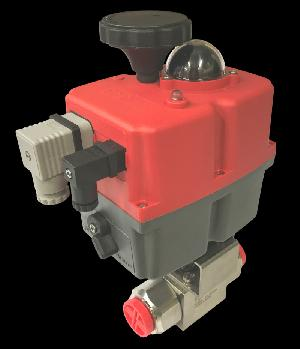 Electric Stainless Steel 2 Way 6000psi Ball Valve