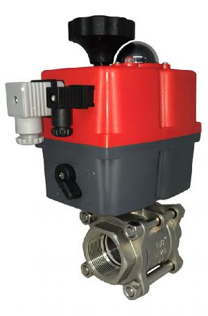 Electric Stainless Steel GE 3 Piece Ball Valve