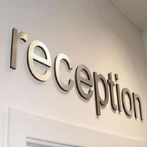 Reception Sign Board 01