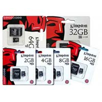 Kingston Micro SD Cards