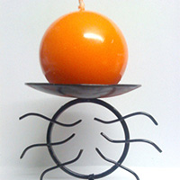 Sunrise Type Wrought Iron Candle Stand