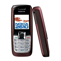 Nokia 2610 Mobile Phone