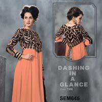 Same Design with Different Colour Anarkali Suit