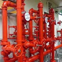 Multi Story Building Fire Hydrant System Installation