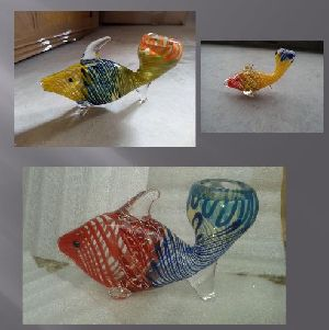 Glass Fish Smoking Pipes