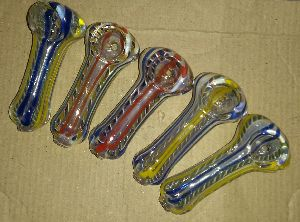 PP018-Glass Peanut Smoking Pipe