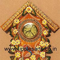 Paper Mache Clock