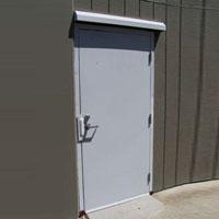 Steel Fire Exit Door 01