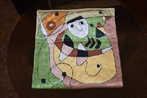 Chain Stitch Cushion Cover 06