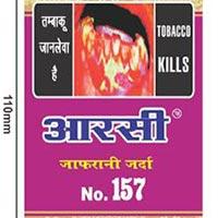 Zafrani Zarda Tobacco No. 157
