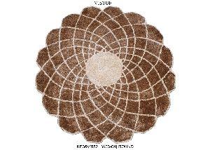 KE36V/552 (V/03-04) Round Hand Tufted Woolen Carpets & Rugs