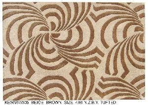 KE36W/530b Hand Tufted Woolen Carpets & Rugs